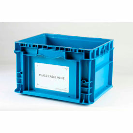 """Kennedy Group Economy Container Placard Label Holder ESTP1 with """"Place Label Here"""" 3"""" x 5"""" White - Pkg Qty 100"""