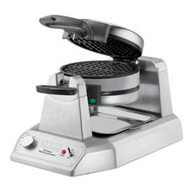 Waring WWD200 - Double Waffle Maker, Commercial, 120V