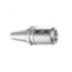 """BT40 End Mill Holder, 1-1/4"""" by 3.56"""" Long, Balanced to 15K RPM G2.5, Import"""
