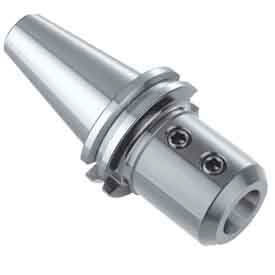 """CAT 40 End Mill Holder, 1/8"""" by 2.37"""" Long, Balanced to 15K RPM G2.5, Import"""
