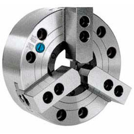 "3-Jaw Extra Large Hole Power Chuck, Direct Mount A2-6, 8"" , Import"