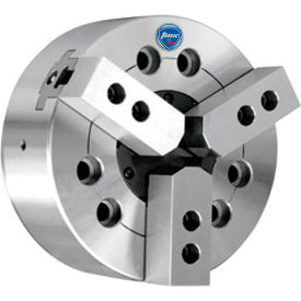 """3-Jaw Power Chuck, 8"""" , Direct Mount A2-6, Import"""