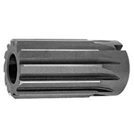 "HSS Import Straight Flute Shell Reamer, RH Cut, 1-3/4"" DIA x 1"" Hole DIA x 3-1/2"" OAL 12 flutes"