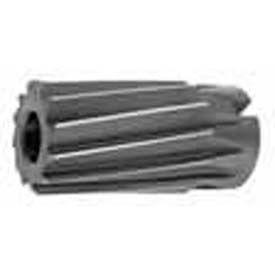 """HSS Import Spiral Flute Shell Reamer 1-3/4"""" Diameter x 1"""" Hole x 3-1/2"""" OAL, 12 Flutes"""