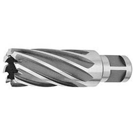 "HSS Annular Cutter, 13/16"" D, .449"" I.D. for 2"" Depth of Cut, 6 Flutes x 3/4"" Sh D, 2 Shank Flats"