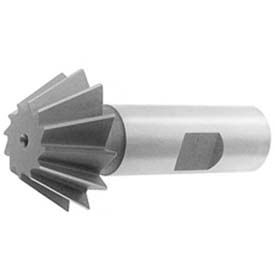 "45 ° HSS Import Single Angle Chamfering Cutter, 1/2"" DIA x 1/8"" Cutter Width x 2-1/8"" OAL"