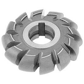 """HSS Import Convex Milling Cutter, 1/4"""" Circle DIA x 2"""" Cutter DIA x 7/8"""" Hole"""