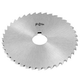"HSS Import Plain Slitting Saw, 4"" DIA x 3/32"" Face x 1"" Hole"
