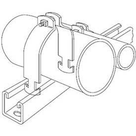 "Kindorf C10521/2HD 2-1/2"" Steel Rigid/IMC Pipe Strap W/Hot-Dip Galvanized Finish"