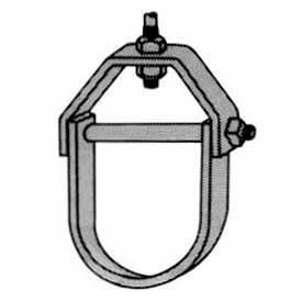 Superstrut Steel Adjustable Clevis Hanger C710-1/2 EG, Silvergalv™ Finish