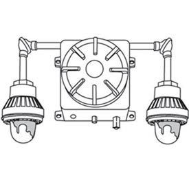Emergi-Lite 019886_E Replacement Circuit Board for EXC2-2IM