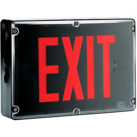 Emergi-Lite BBSVX1R-4X NEMA 4X Exit Sign - Ac Only Single Face