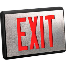 Emergi-Lite DXN2R-N Die-Cast Aluminum Exit Sign - Self Powered Double Face