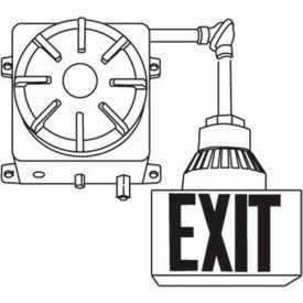 Emergi-Lite EXC2-T1SR Explosion Proof Battery Unit - 6 Volt 25W w/ Single Exit