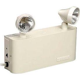 Emergi-Lite JCM27-2 Small Steel Emergency Light - 6V 27W Lead Calcium Battery