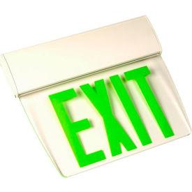 Emergi-Lite TAPE1GC Single-Face Economy Edge-Lit Exit Sign - Ac-Only Green