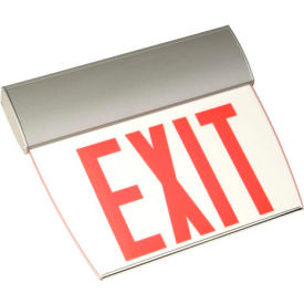 Emergi-Lite TAPEN1RC Economy Edge-Lit Exit Sign - Self Powered Red