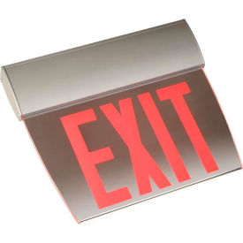 Emergi-Lite TAPEN2RM Economy Edge-Lit Exit Sign - Self Powered Red