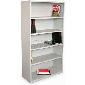 "Ensemble Five Shelf Bookcase, 36""W x 14D x 27H - Featherstone Finish"