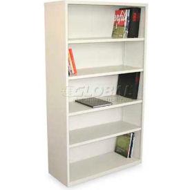 "Ensemble Five Shelf Bookcase, 36""W x 14D x 27H -Putty Finish"