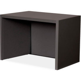 "Marvel® Riser for use on 30"" Corner Table, 16""H x 23-1/2""W, Black"