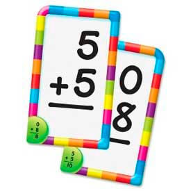 """Trend® Addition 0-12 Pocket Flash Cards, 3-1/8"""" x 5-1/4"""", 56 Cards/Box"""
