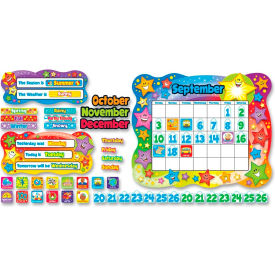 "Trend® Star Calendar Bulletin Board Set, 26"" x 31"", 165 Pcs/Set"