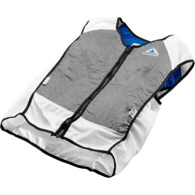 Techniche 4531 Elite Hybrid Sports Dual Cooling In One Vest, S, Silver