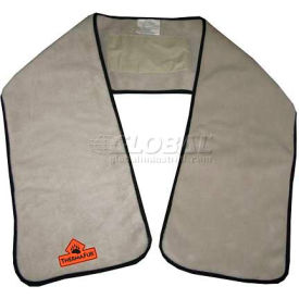 Techniche 5519 Thermafur™ Air Activated Heating Scarf With Warmers, Khaki
