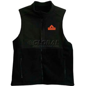 Techniche 5529 Thermafur™ Air Activated Heating Ultra Vest With Warmers, 3XL, Black