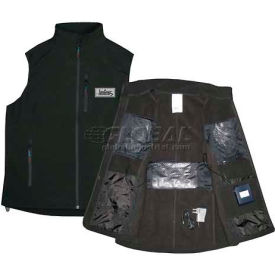 Techniche 5627 Iongear™ Battery Powered Heating Vest, 2XL, Black