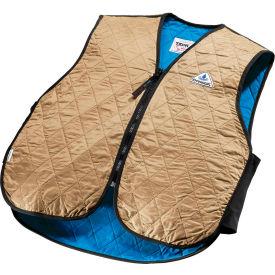 Techniche 6529 Hyperkewl™ Evaporative Cooling Sport Vests, 2XL, Khaki