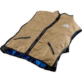 Techniche 6530F Hyperkewl™ Evaporative Cooling Vest, Women's Deluxe, M, Khaki