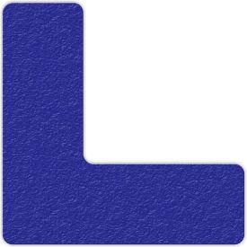 Floor Marking Tape, Blue, L Shape, 25/Pkg., LM110B