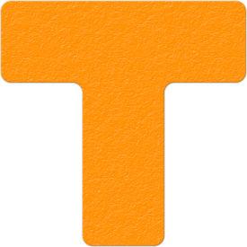 Floor Marking Tape, Orange, T Shape, 25/Pkg., LM130N