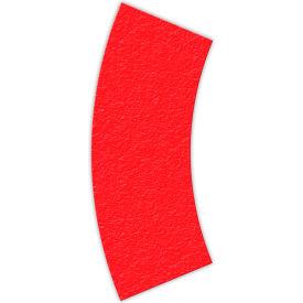 Floor Marking Tape, Red, Arc Shape, 25/Pkg., LM140R