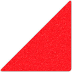 "Floor Marking Tape, Red, 6"" Triangle, 25/Pkg., LM170R"