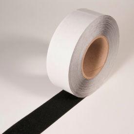 """Coarse Resilient Anti-Slip Tape, Black, 2""""W x 60'L Roll, PFX2302K"""