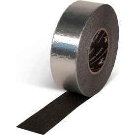 "Gator Grip Foil Backed Conformable Anti-Slip Tape, Black, 2""W x 60'L Roll, SG4102AL"