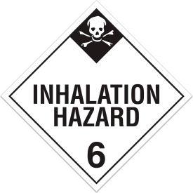 INCOM® TA620PS Class 6.2 Inhalation Hazard Adhesive Vinyl Placard