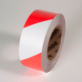 "Tuff Mark Tape, Red/White, 2""W x 100'L Roll, TM1202RW"