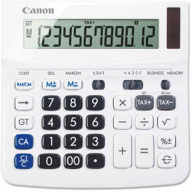 Canon TX-220TSII Portable Display Calculator, 12-Digit LCD by