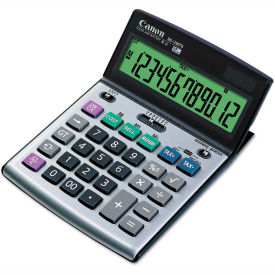 Canon BS-1200TS Desktop Calculator, 12-Digit LCD Display by