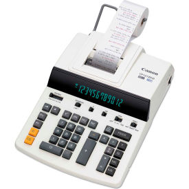 Canon CP1213DIII 12-Digit Printing Calculator, Heavy-Duty Commercial Desktop by