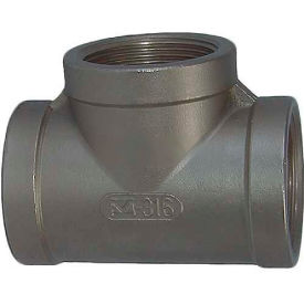"""Trenton Pipe Ss304-62001 1/8"""" Class 150, Tee, Stainless Steel 304 - Pkg Qty 25"""