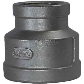 "Trenton Pipe Ss304-64102x01 1/4""X1/8"" Class 150, Reducing Coupling, Stainless Steel 304 - Pkg Qty 25"