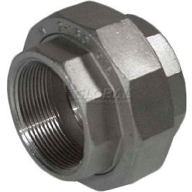 """Trenton Pipe Ss316-69014 1-1/2"""" Class 150, Union, Stainless Steel 316 - Pkg Qty 5"""