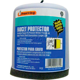 Frost King Plastic Covered Faucet Protector, Rectangular - Pkg Qty 24