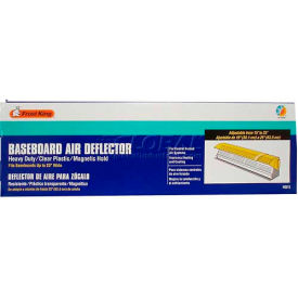 """Frost King Baseboard Deflector, 15"""" Extends To 25"""" - Pkg Qty 12"""