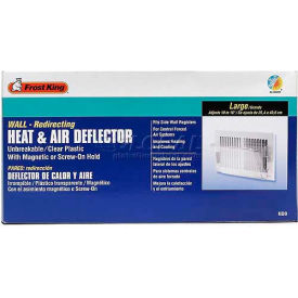 "Frost King Large Heat & Air Deflector, Fits Registers Up To 16"" Wide - Pkg Qty 12"